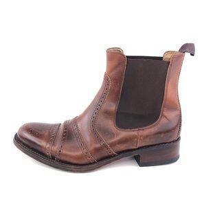 Paul Stuart Brogue Chelsea Boots Mens 11